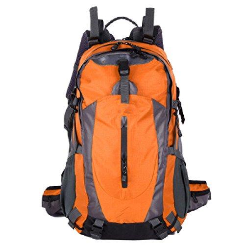 OGERT All'aperto Alpinismo Viaggio Zaino Grande Capacità,Red Orange