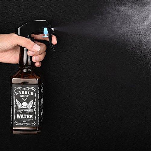 Samlike Coiffure Spray bouteilles Outil Salon de Coiffure Cheveux Eau Vaporisateur 500 ml
