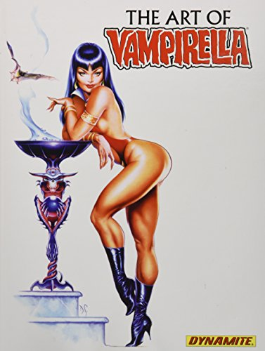 For over 40 years Vampirella has been the muse for many artists in the comic industry and even beyond. Dynamite Entertainment brings forth a veritable museum of fine art masterpieces collected in a 216 page hardcover volume! This tome contains a retr...