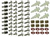 Schrauben-Teile Set, PC, 50-teilig