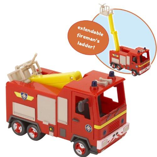 Image of Fireman Sam 04050 Venus Fire Truck Model Toy