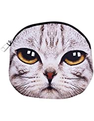 Y-BOA Sac Bandoulière Epaule Ronde Femme Polyester Chaîne Chaton Taille 20.5*17.8cm