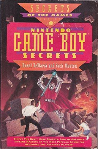 Nintendo Game Boy Secrets by David Sillar (1990-11-01)