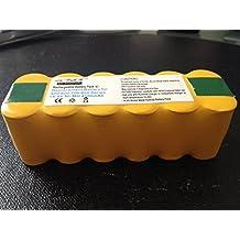 ENOVA® Batería Recargable +Potente para iRobot Roomba: modelos 600 610 620 625 630 635 640 645 650 651 655 670 680 690 (4500mah)