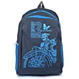 #7: Lutyens Polyester 17Litres Grey School Backpack