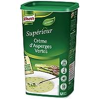 Knorr Supérieur Crème D'asperges Vertes 900g 40 Portions - Lot de 2