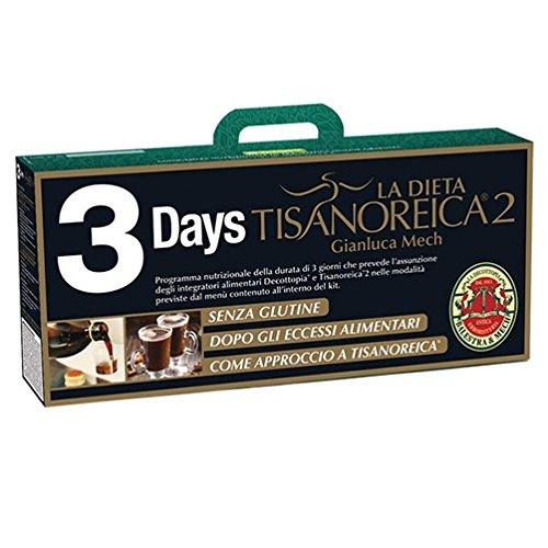 gianluca mech 67102 bauletto 3 days tisanoreica 2 integratore alimentare