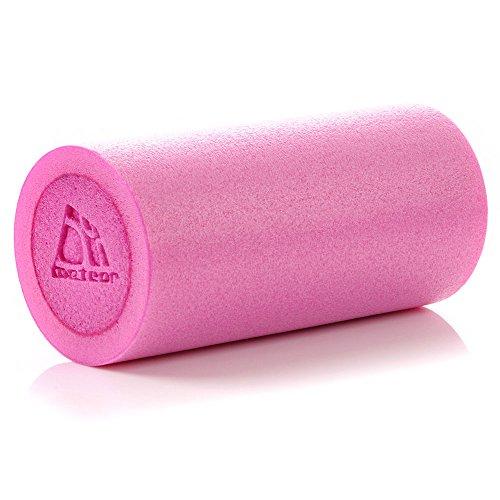 METEOR Massagerolle Schaumstoffrolle Foam Roller Fitness Massage Rolle Foamroller Gymnastik EVA Regeneration und Leistungssteigerung für zu Hause, im Büro oder auf Reisen EPP