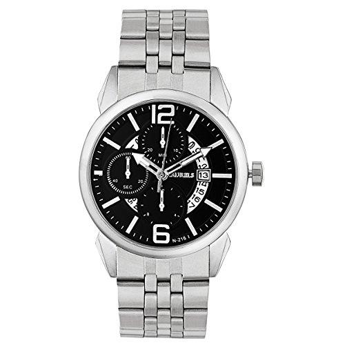 Laurels Aristocrat 6 Analog Black Dial Men\'s Watch - Lo-Ast-602