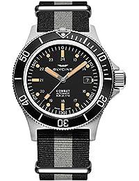 GLYCINE COMBAT SUB relojes hombre 3908.199-N TB90