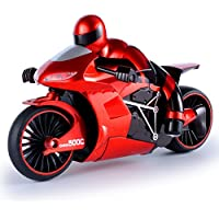 GUOGUO Children Motorbike Toys, Drifting Electric Remote Control Motorcycle RC Boy Toys Battery Operated Toy Gift - Compare prices on radiocontrollers.eu