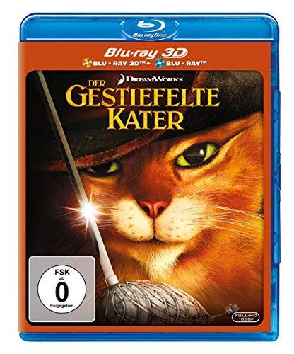 Der gestiefelte Kater  (+ Blu-ray 2D)