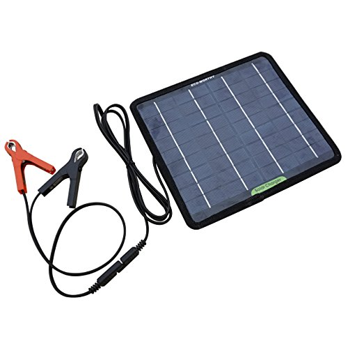 5Watt Tragbare Solarzelle Batterie Ladeger?t Betreuer f¨¹r Automobile Motorrad Boot Batterien (Batterie Betreuer)