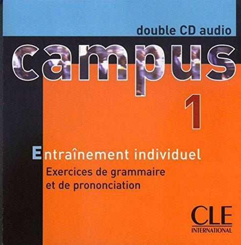 Campus 1 : Exercices de grammaire et de prononciation (coffret 2 CD) par Jacky Girardet, Jacques Pécheur, Jean-Noël Rey