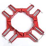 4 Stücke Gehrungszwingen 70mm Winkelspanner Winkelzwinge 90° Eckzwinge Gehrungszwinge