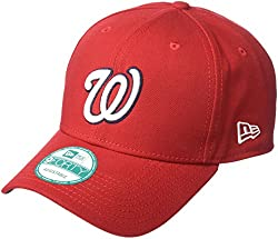 New Era The League Washington Nationals Gm - Schirmmütze Für Herren, Farbe Rot, Größe Osfa