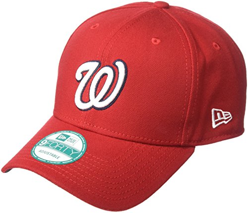 New Era 9Forty Washington Nationals Kappe Herren, Rot, OSFA