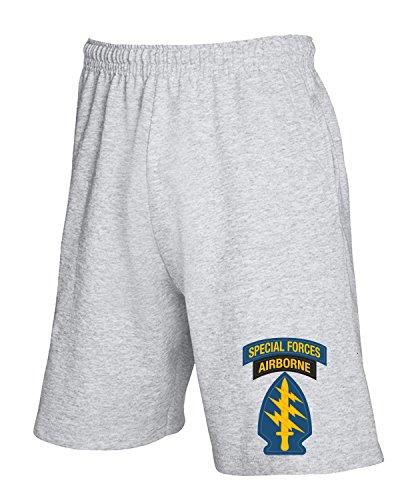 Cotton Island - Pantalone Tuta Corto TM0393 U S Army Special Forces usa, Taglia L