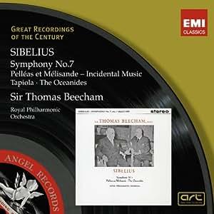 Sibelius: Pelléas et Mélisande; The Oceanides; Symphony No 7; Tapiola
