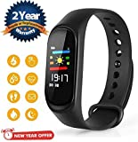 Lambent M3 Smart Fitness Band Activity Tracker with Heart Rate Sensor Compatible