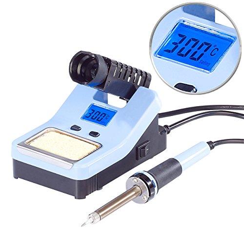 AGT AGT Lötstation: Digitale Lötstation mit LCD-Display, 160 - 520 °C, 48 Watt (Lötkolben Set)