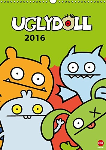 der 2016 DIN A3 hoch): Ugly Dolls: Freche Plüschpuppen (Monatskalender, 14 Seiten) (CALVENDO Spass) (Ugly Doll Ox)