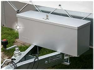 stema deichselbox staubox pkw anh nger werkzeugbox werkzeug kiste koffer metall auto. Black Bedroom Furniture Sets. Home Design Ideas