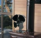 Newmeil Hitze Powered Ofen Fan mit 4 Flügeln - 7