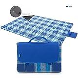 YONOVO coperta da picnic impermeabile con maniglia per il picnic e per parco di campeggio in spiaggia