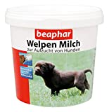beaphar Welpen Milch | Vollwertiger Mutter-Milchersatz für Hundewelpen von der Geburt an | Ideale Aufzuchtmilch | Mit Vitamine & Mineralstoffe | 500 g Dose