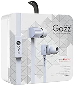 Gavio New Gazz Ecouteurs intra-auriculaires pour Smartphone 16 ohm Blanc