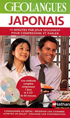 Japonais : 15 Minutes par jour seulement pour comprendre et parler (2CD audio) par Nathan