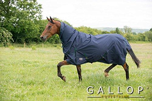 Gallop - Impermeable ligero para caballo y ponies Talla:6'6'