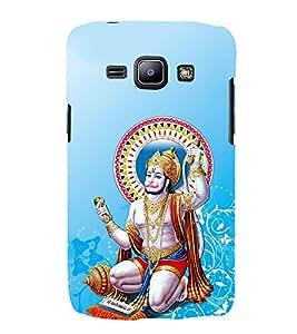 FUSON Hindu Lod Hanuman Ramjap 3D Hard Polycarbonate Designer Back Case Cover for Samsung Galaxy J2 (6) 2016 J210F :: Samsung Galaxy J2 Pro (2016)