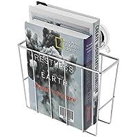 Zerone Revistero Pared, Rejilla de Succión de Baño de Acero Inoxidable Revista de Baño, Rejilla de Almacenamiento de Revistas para Guardar Periódicos y Revistas