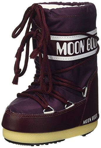 Moon Boot Nylon burgundy 074 Unisex 31-34 EU Schneestiefel
