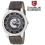 Charlie Carson Day & Date display grey w...