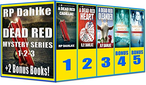 Boxed Set-3 Dead Red Mysteries Plus 2 Bonus Books: 1st three in the Dead Red Mystery Series, plus book 1 and 2 of Pilgrim's Progress
