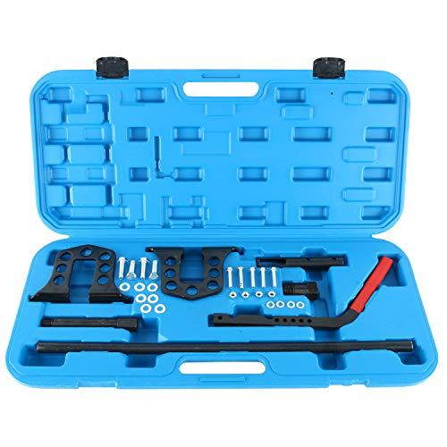 FreeTec Universal Ventilfederspanner Druckluft Ventile Montage Set Ventilschaftdichtung KFZ Werkzeug inkl. Koffer