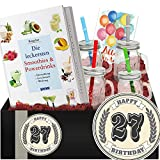 Geschenkidee 27. Jubiläum | Geschenkbox Gesundheit | 27 Geburtstag Frau
