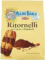 Mulino Bianco Biscotti Ritornelli con Cacao e Mandorle, 700g