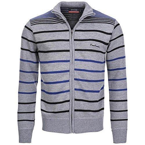 pierre-cardin-veste-sweat-homme-fermeture-eclair-s-argente-gris