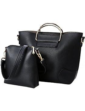 YsinoBear Frauen Mode Handtasche mit einem Messenger Bag Handtasche für Party Office