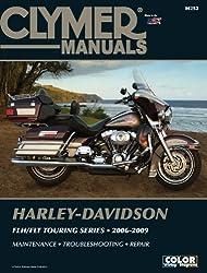 Harley-Davidson FLH/FLT Touring Series 2006-2009 (Clymer Manuals: Motorcycle Repair)