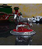 #4: eCraftIndia While Metal Cow and Calf