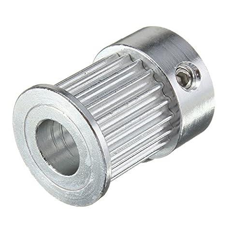 Alamor 20/16 Zähne Timing Rollen Bohrung 5/6, 8 mm für Gürtel breit 10 mm 2GT Scheibe-1 (Scheibe Gürtel)