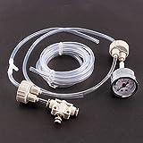 Kit Generador CO2CO2acuario con válvula ajuste Presión