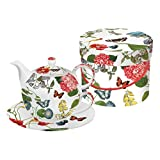Die besten Paperproducts Design-Teekannen - PPD Victoria Garden Tea-for-One-Set, Tee Kanne, Tasse in Bewertungen