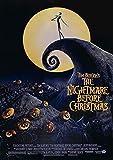 Poster Affiche L'Étrange Noël De Mr Jack Tim Burton Movie