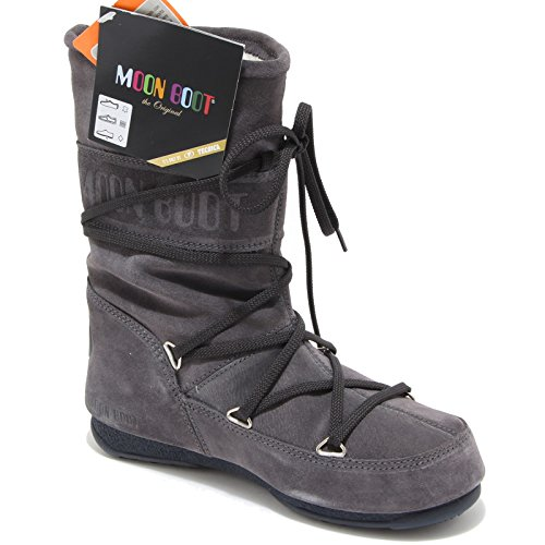 Moon Boot 55021 Doposci Scarpa Stivale Donna Boots Shoes Women Grigio